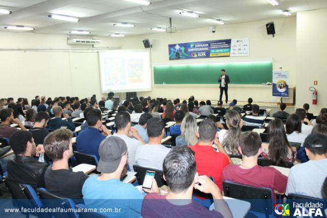 Encerramento da 8ª Jornada Empresarial Faculdade ALFA Umuarama